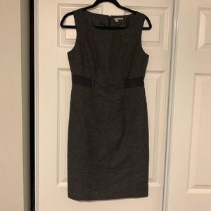 Halogen sleeveless wool blended dress